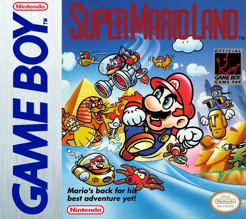 Super Mario Land - GB (Nintendo, 1989)
