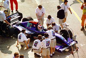1994, Roland Ratzenberger sur Simtek Ford