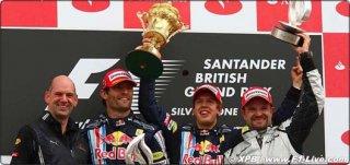podium silverstone 2009