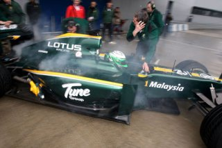 Lotus Cosworth - Jarno Trulli