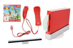 Nintendo Wii - Rouge - Edition Super Mario Bros