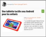 Mon Mobile & Moi : Une tablette tactile sous Android pour les enfants