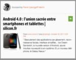 Mon Mobile & Moi : Android 4 et un téléphone Google !