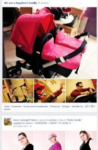 Facebook - octobre 2011 - Bugaboo Donkey