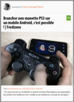 Scoop : Brancher une manette PS3 sur un mobile Android, c'est possible