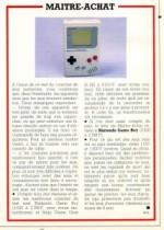 La Game Boy, Maître Achat des portables