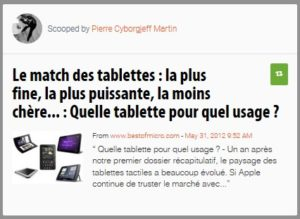 Quelle tablette pour quel usage ?