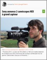 100% e-Media : Boitier Fuji, nouvelles caméra Sony et studio Youtube