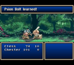 Tales of Phantasia - Battle