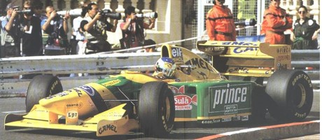 1993 - Michael Schumacher sur Benetton Ford
