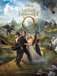Le monde fantastique d'Oz - poster du film