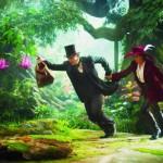 Le monde fantastique d'Oz - scène du film dans la forêt avec Theodora (Mila Kunis)