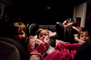 La famille Martin dans la Renault Kangoo, en route pour le Sud !