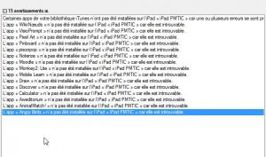 migration iPad 2 -> iPad 3