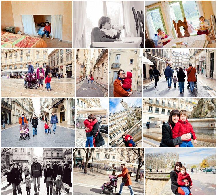 En route pour Montpellier (2013) Notre descente en famille dans le sud de la France afin de revoir nos amis Didier & Roseline.