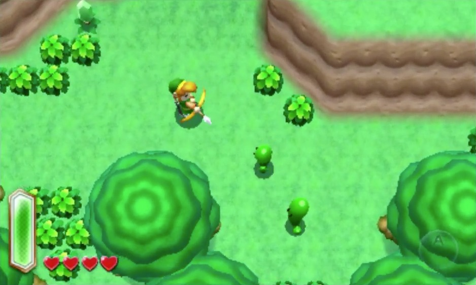 zelda : a link to the past 2 - 3DS