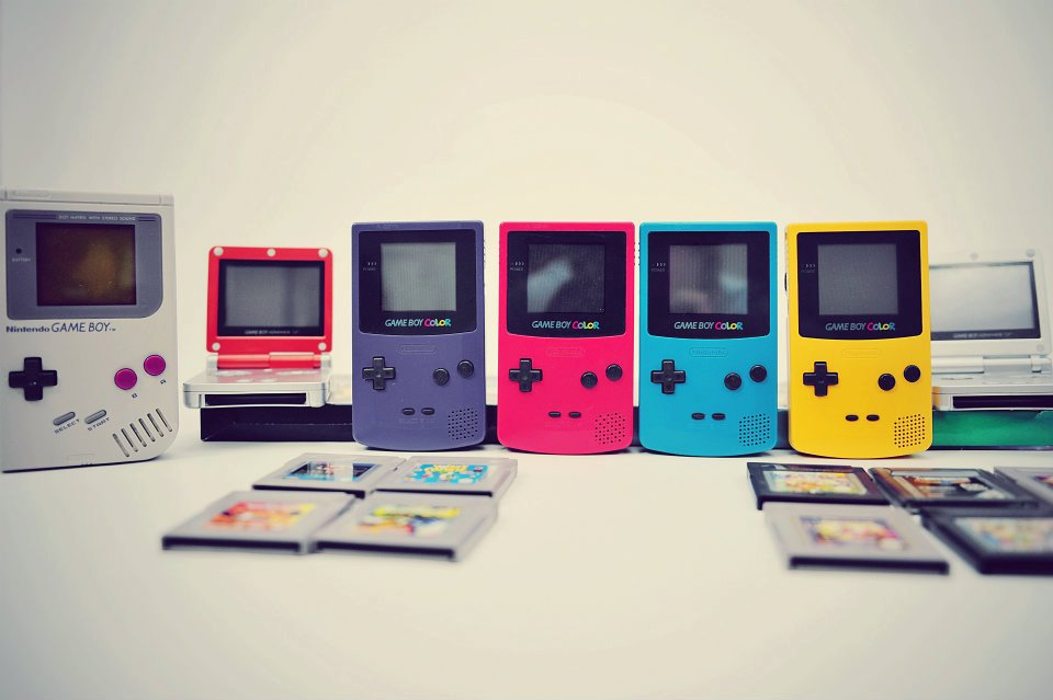 GameBoy - Rainbow - 2012