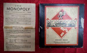Les règles du Monopoly belge - ancienne version en Francs.