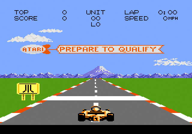 Pole Position 2 (Atari 7800)