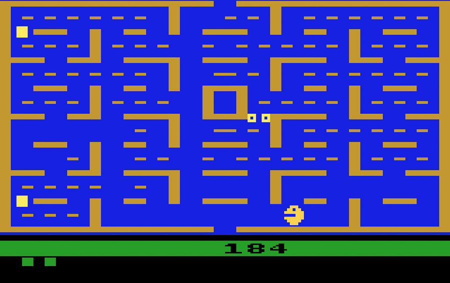 Pac Man (Atari 2600)