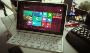 Windows 8 sur Acer Iconia Tab W700