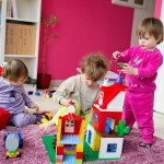 Ambiance Lego avec les enfants