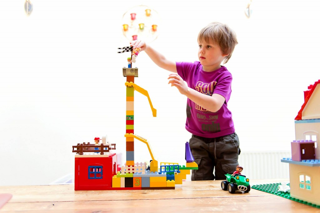 Un bateau de corsaire en Lego Duplo