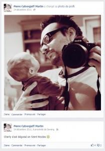 Facebook - décembre 2011 - Pierre Cyborg Jeff Martin et Alice - Autoportrait - Nikon D700
