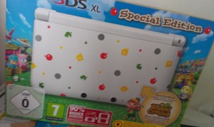 Nintendo 3DS XL Special Animal Crossing.