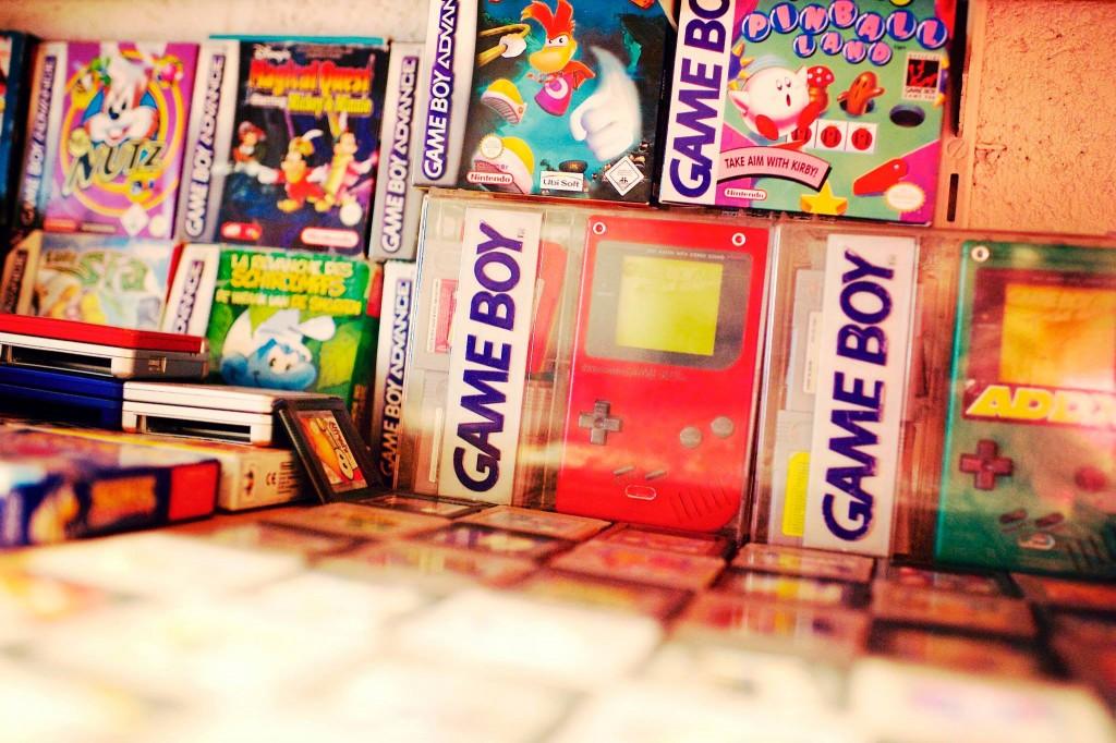 Un coup d'oeil sur le coin GameBoy