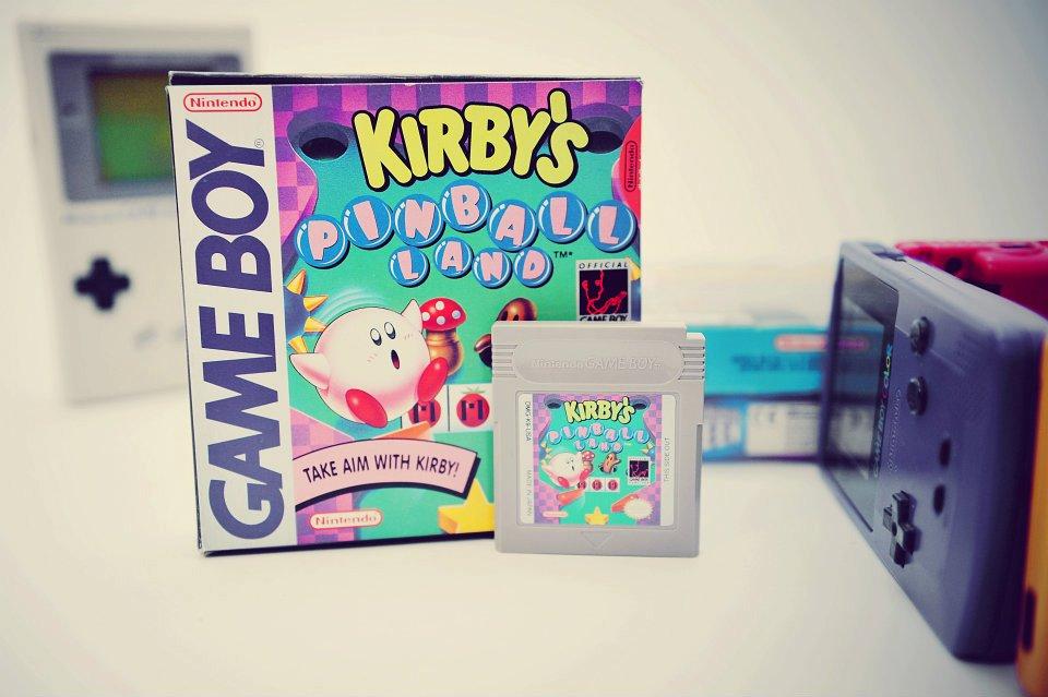 Kirby Pinball en boite (GB)