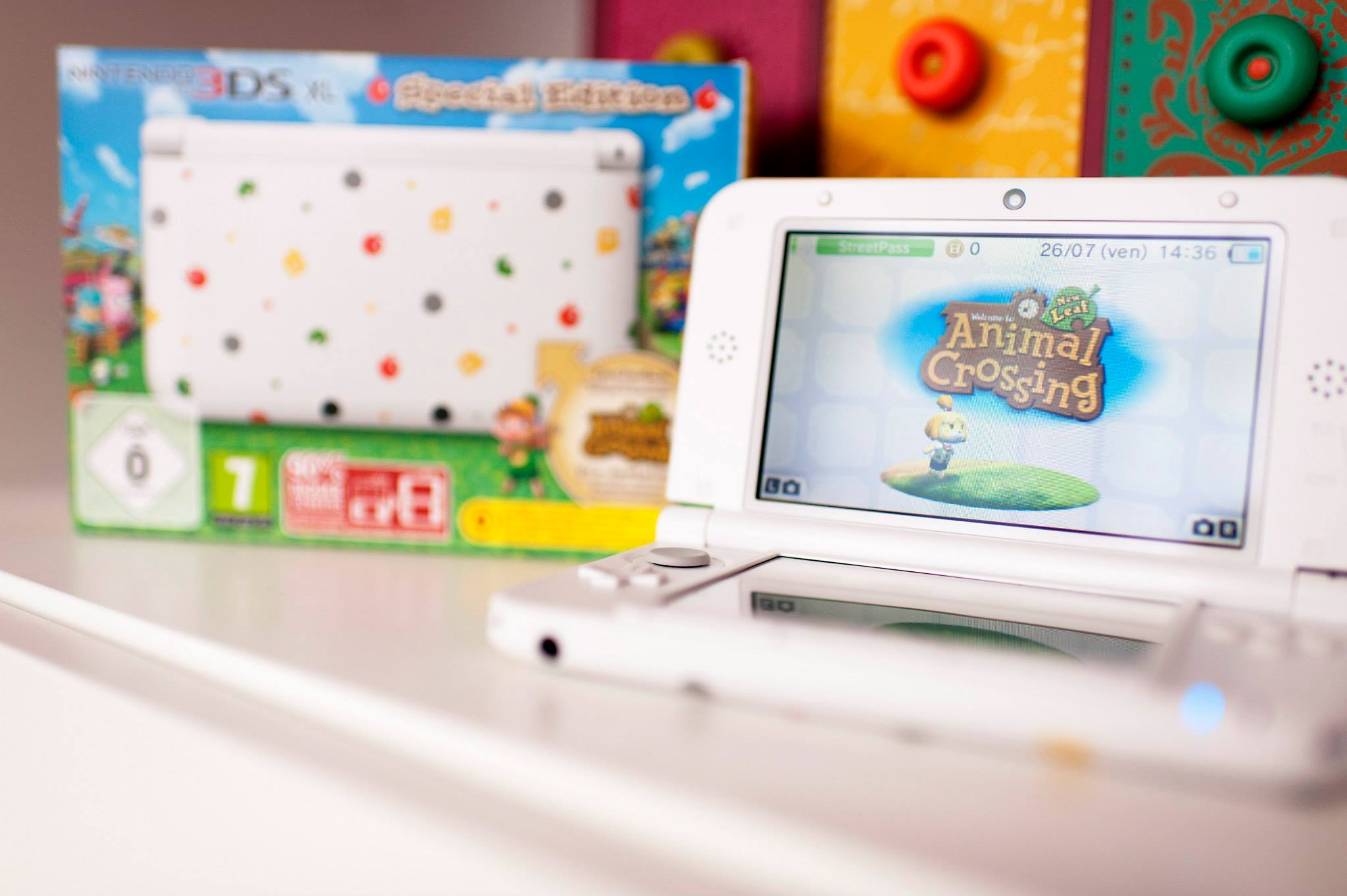 Animal Crossing 3DS XL collector