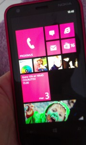 Windows Phone 8 sur Nokia Lumia 620