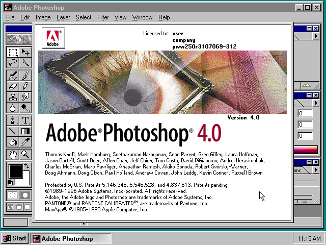 Adobe Photoshop 4