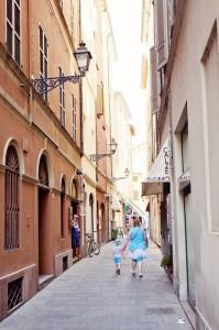 Dans les rues de Parma