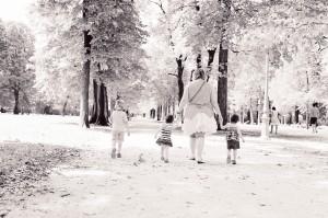 Un peu d'ombre dans le Parco Ducale de Parma