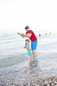 Desenzano del garda - les pieds dans l'eau