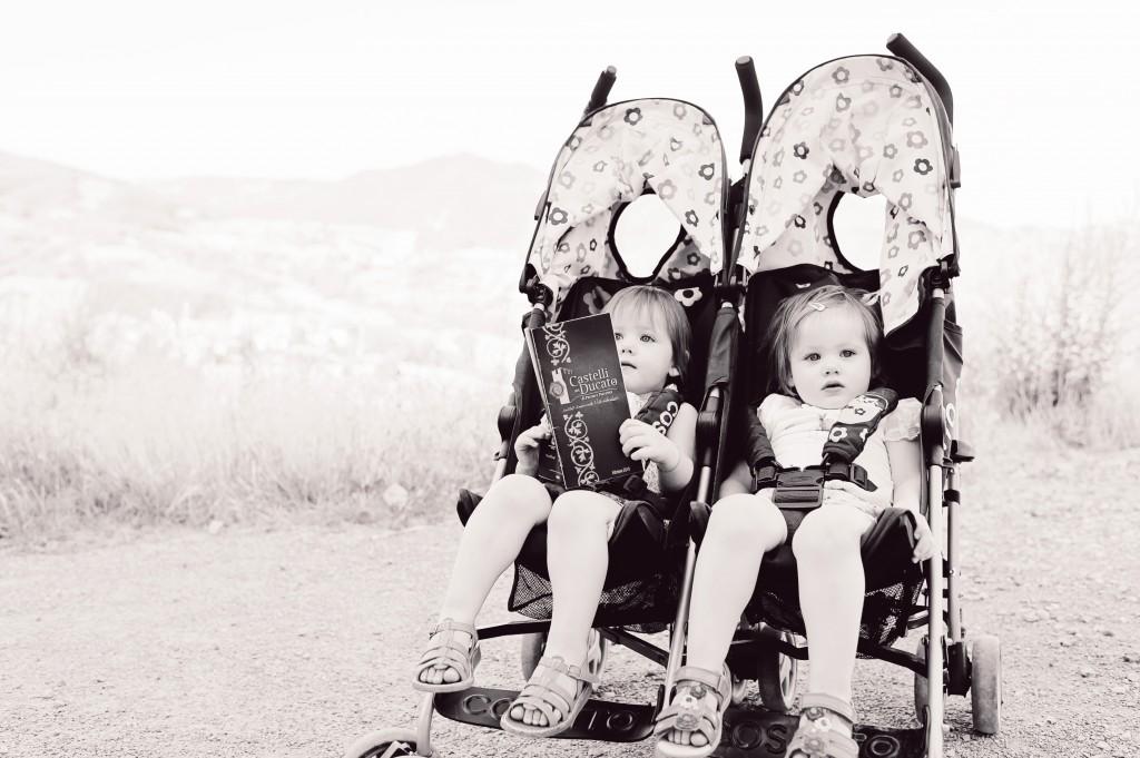 Nos jumelles, Alice et Juliette en voyage !