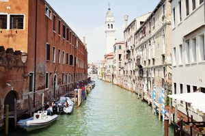 C'est beau tout de même Venise...
