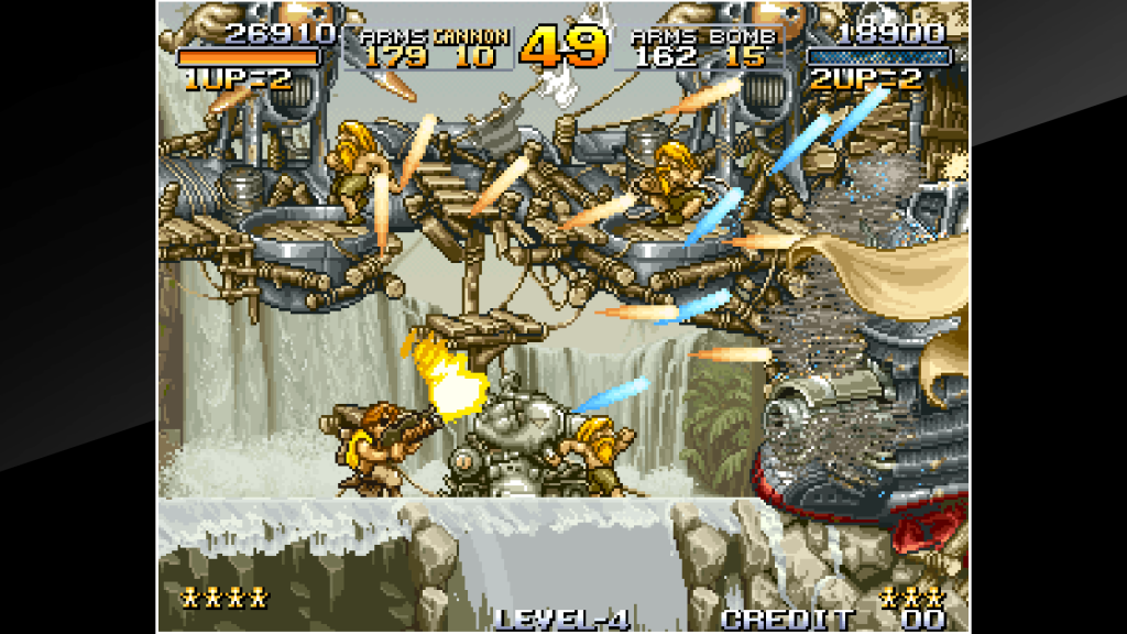 Emulateur Neo-Geo - Metal Slug