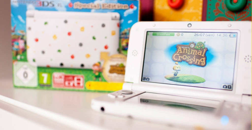 Nintendo 3DS XL - Animal Crossing Collector