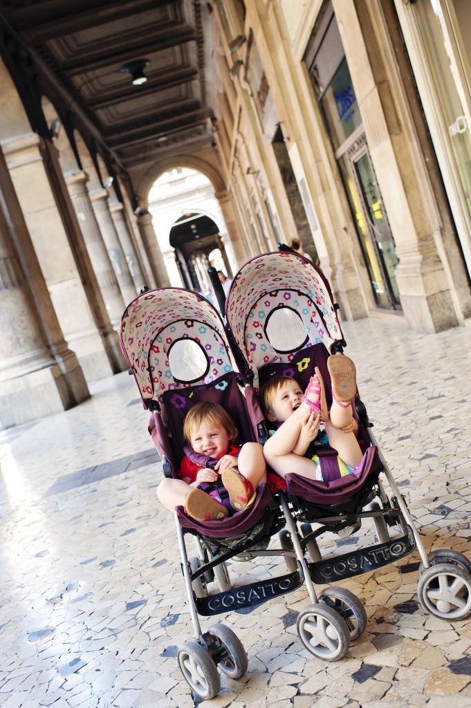 Les filles à l'attaque des galeries de Bologne !