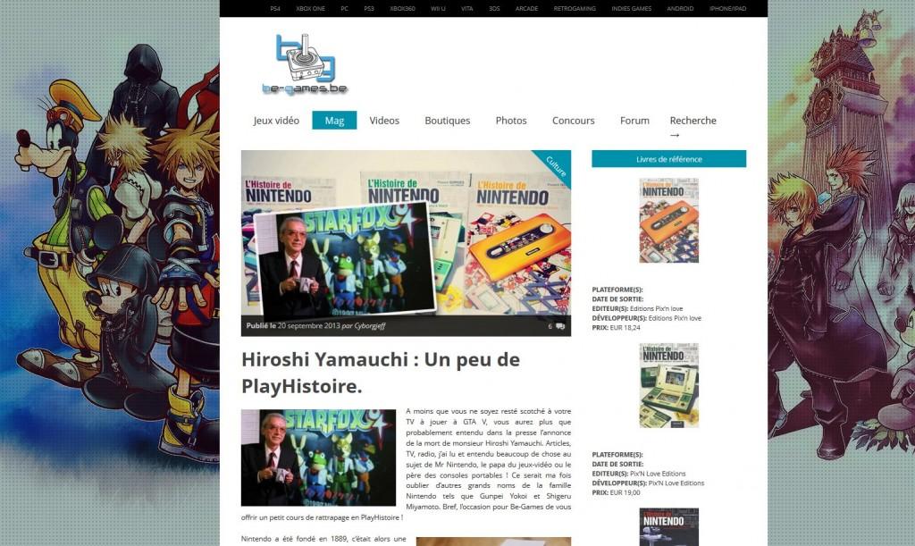 Hiroshi Yamuchi - Be-Games
