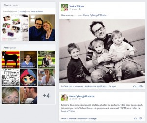 janvier 2013 - timeline Facebook