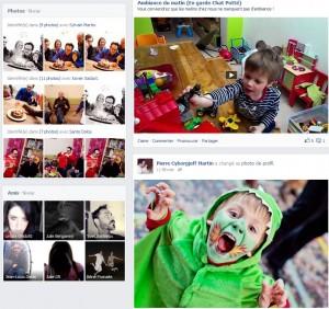 Facebook - Souvenirs février 2013