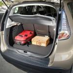 Renault Grand Scenic - Bagages dans le coffre