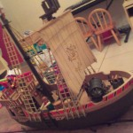 Bateau Pirates Playmobil version Vintage