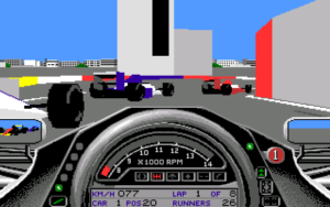 F1GP - PC MS-DOS (Microprose)