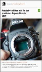 100% e-Media : les nouveautés Nikon