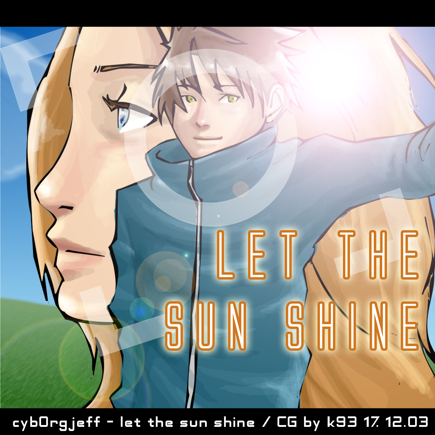 Cyborg Jeff - Album - Let the sun shine - cover - 2003 - K93